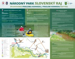 Prielom Hornádu rafting rules and informations