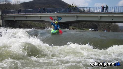 Adrenalínový prejazd Ťahanovskej vlny