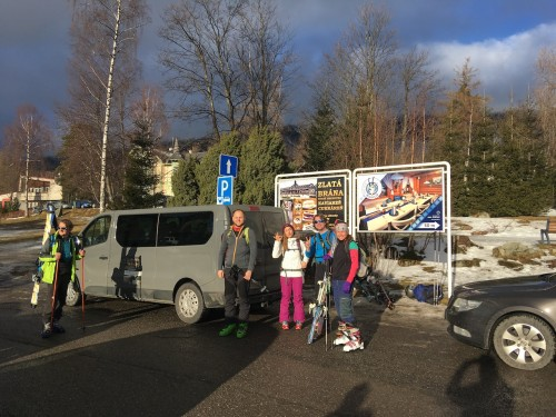 Travelling with VAN to the High Tatras