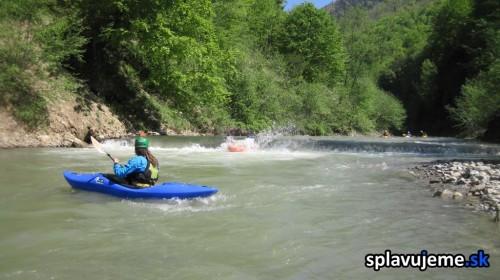 Splav rieky Vaser