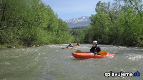 Splav rieky Viseu